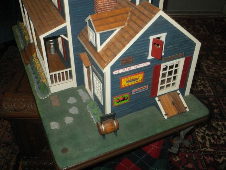 I Couldn T Resist This Vintage Colonial Dollhouse From The: Franklin Mint Dollhouses