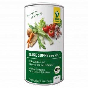 Klare Suppe ohne Hefe Bio, 350g