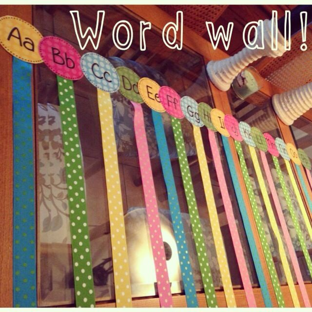 """Word wall design idea:  use clothespins to pin index cards on word wall--students can take card off and look on back for definition. Eliminates push pin holes all over the cards! Also eliminates push pin """"toys"""" for middle schoolers AND the """"pin drop = where did it GO??"""" dilemma"""