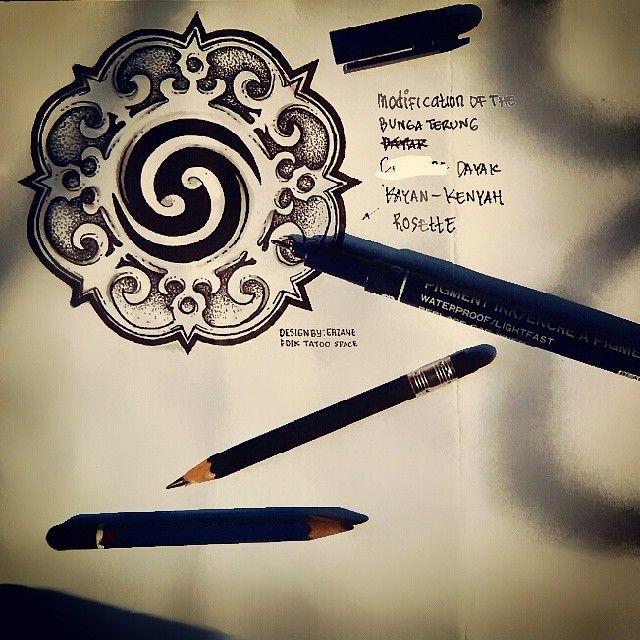 Modification of Bungai Terung by @AjatPama (Erzane N E) of #ArtSentrik_Studio