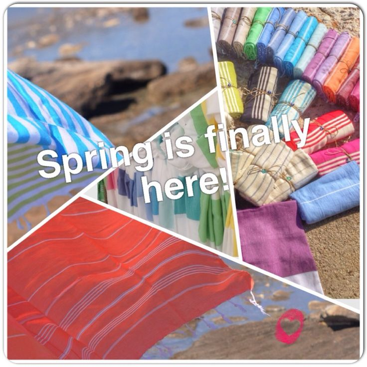 Spring is in the Air @lovepeshtemal.com turkish beach towels