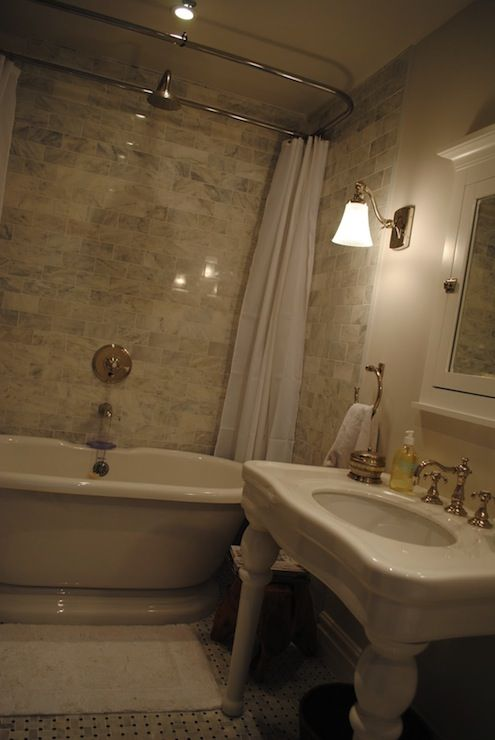 61 best images about bathroom on pinterest gray vanity for Windowless bathroom design ideas