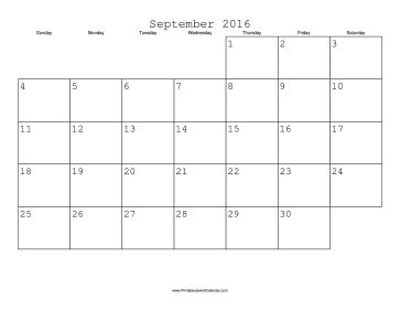 Jewish Calendars to suit everyone- FREE to download and print -- September 2016 Calendar with Jewish holidays, free to download and print
