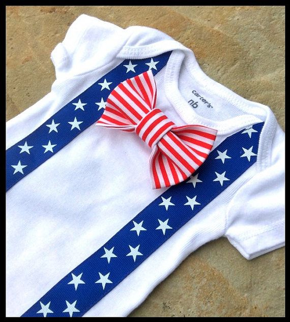 Baby Boy 4th of July Outfit  Ready to Ship in by SewBoyBaby