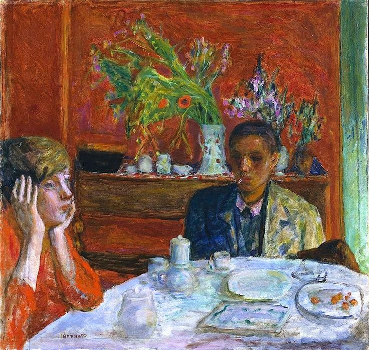 Pierre Bonnard, Après le dîner, c. 1920