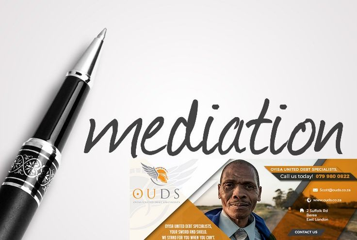 Debt Mediation, also known as Debt Management or Dispute Resolution, is a debt solution targeted at South Africans who are struggling to make debt repayments, but are not yet classified as over-indebted.    Companies offering these services promise to negotiate with creditors on the consumer's behalf in order to initiate a repayment plan.    The consumer thereby pays one