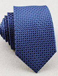 Rács - Nyakkendők (Kék , Polyster)