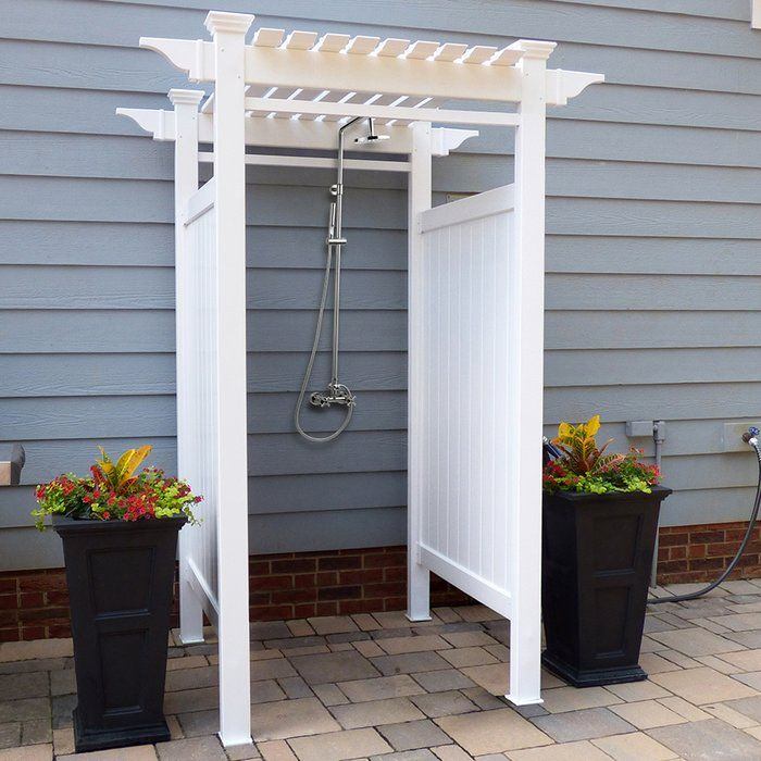 Oceanside Outdoor Shower With Images Outdoor Shower Kits