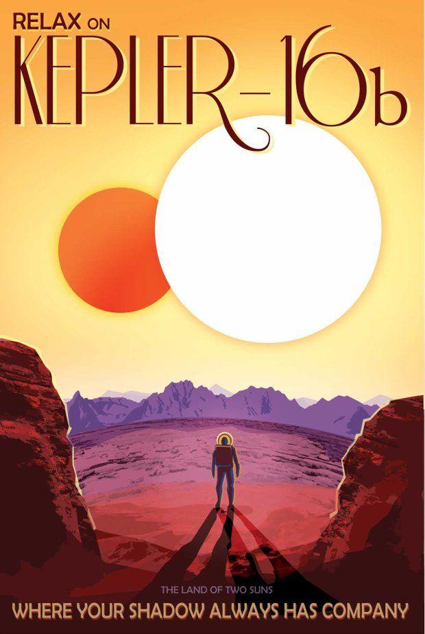 Zdjęcie numer 7 w galerii - Wizja przyszłości na plakatach NASA. Podróże kosmiczne będą codziennością?