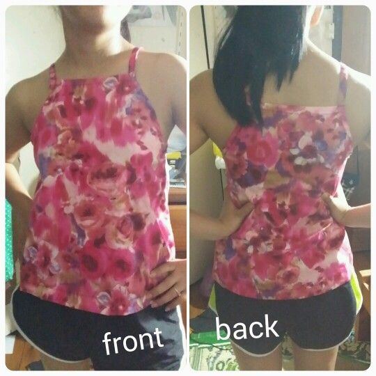 Another simple sumer top that i made !!