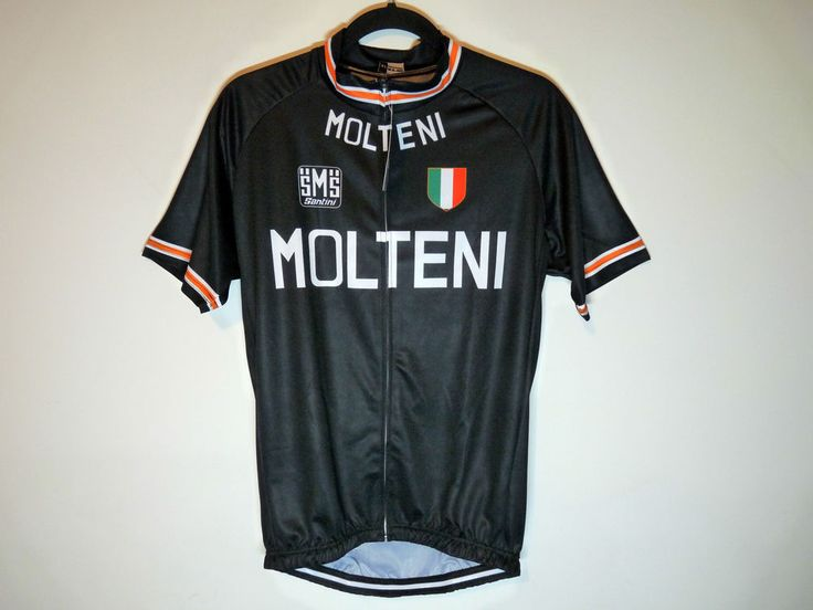 Molteni unbranded retro throwback cycling jersey maillot cycliste - NWT - XL