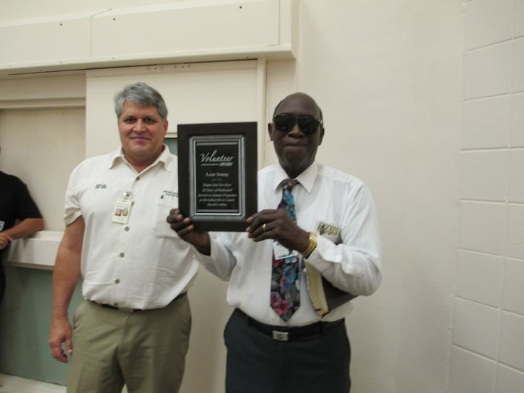 Indian River County Jail long time volunteer (Leon Young) retired from volunteering after 20 years on September 29, 2013. Mr. Young was a dedicated and faithful volunteer who conducted religious services with inmates for more than 20 years. Please see photo with Chaplain Louie Tropf presenting a appreciation plaque from the Indian River County Sheriff's Office.