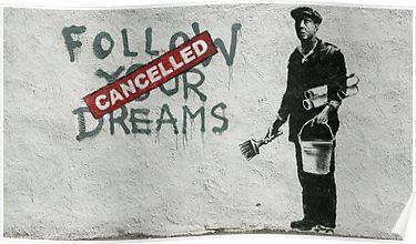 Banksy – Follow Your Dreams | Poster