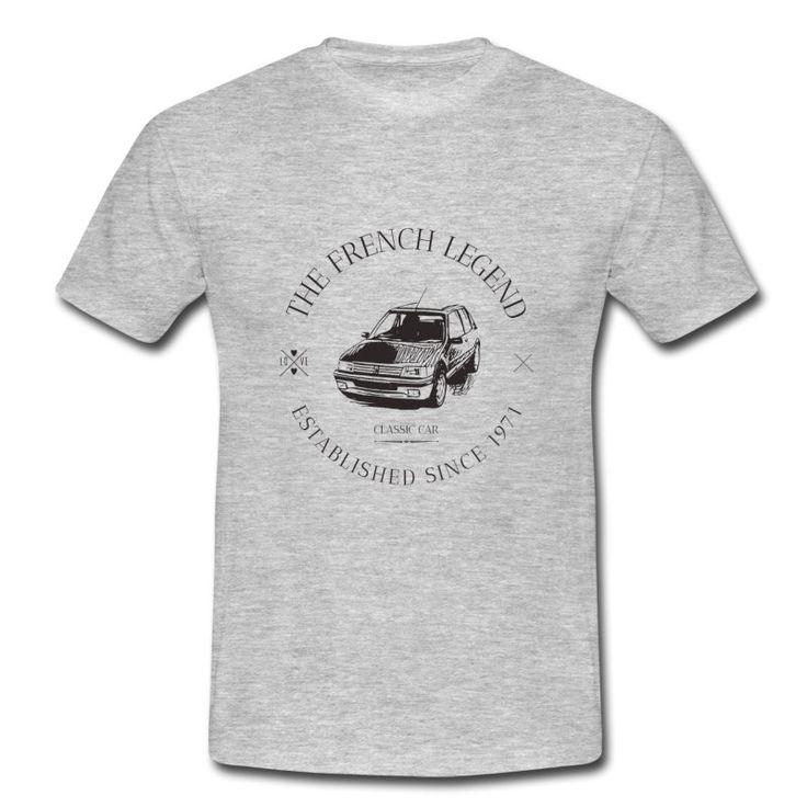 Invecchiato, T-shirt Scura Delle Donne Fiat