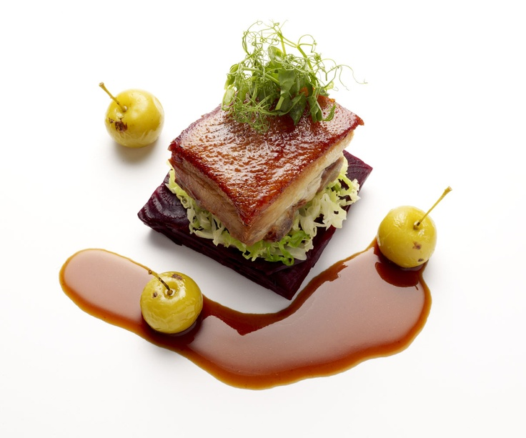 inconnu chef !!Pork Belly | Food plating & signature ...
