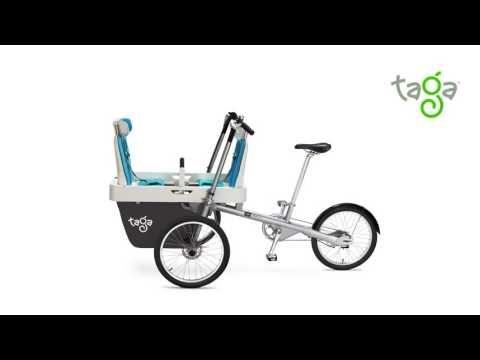 TAGA Family Bike bicicletta n.1 per trasporto di bambini