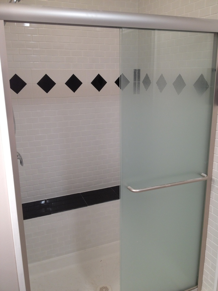 The shower with granite bench