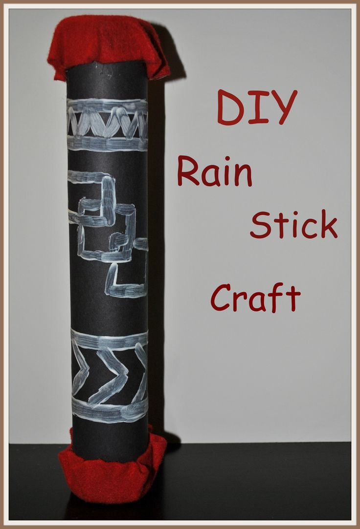 Preschool rain stick craft - How To Make A Rain Stick Aug 20 2012 Crafts4boys Com