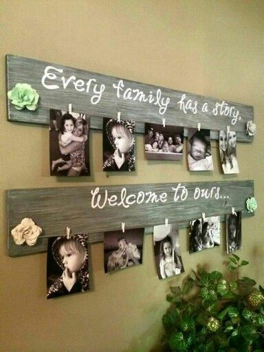 Family photos. Love this!