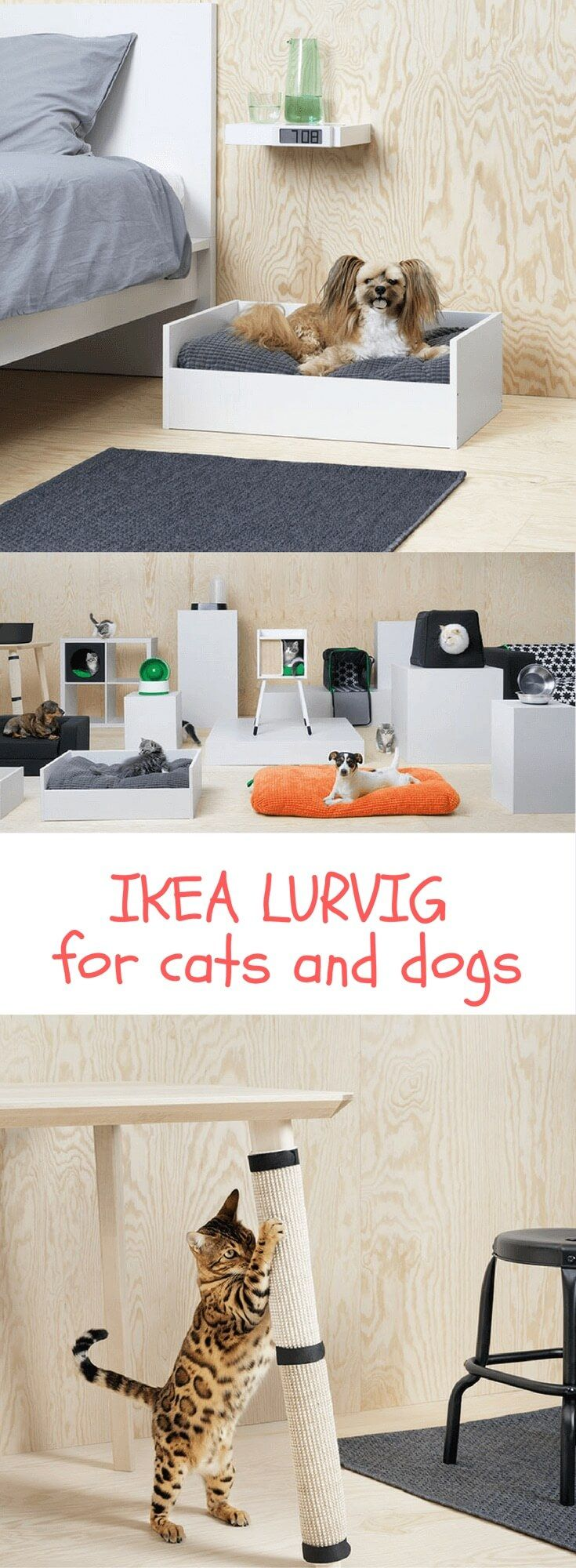 IKEA just launched an absolutely fur-bulous range http://www.ikeahackers.net/2017/10/ikea-lurvig-pet-furniture-dogs-cats.html