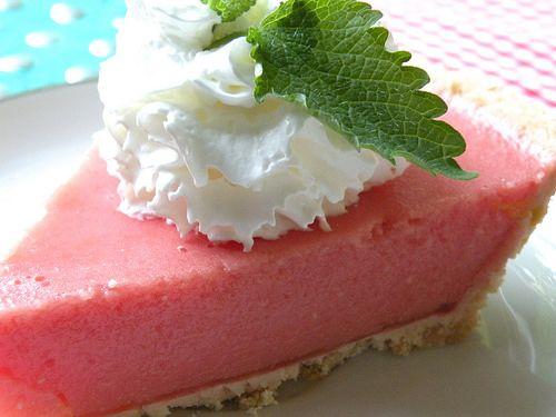 Mrs. Fields Secrets Watermelon Pie by tiffanybeveridge, via Flickr
