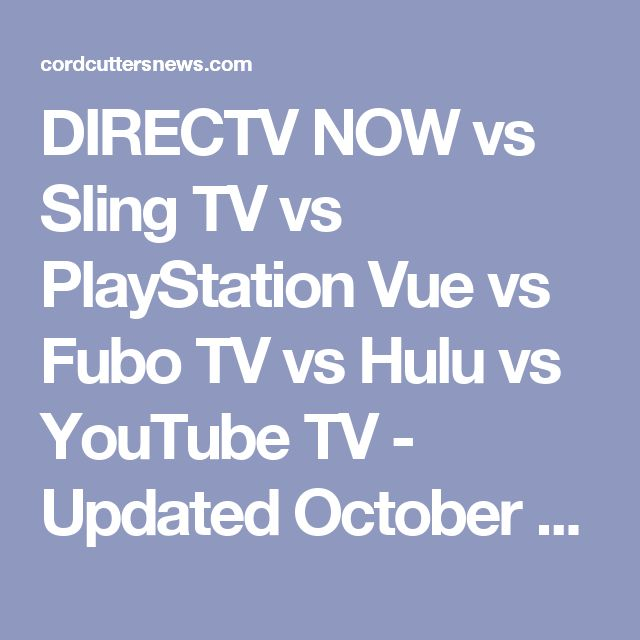 Best 25+ Playstation vue ideas on Pinterest | Tv streaming, Sling ...