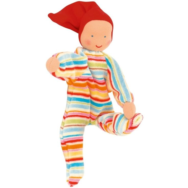 Nicki Baby Waldorf Doll, Kathe Kruse, Striped