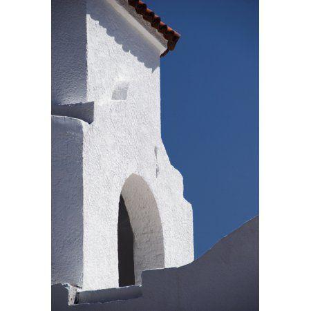 Church Bell Tower Chacras De Coria Mendoza Argentina Canvas Art - Philippe Widling Design Pics (12 x 19)