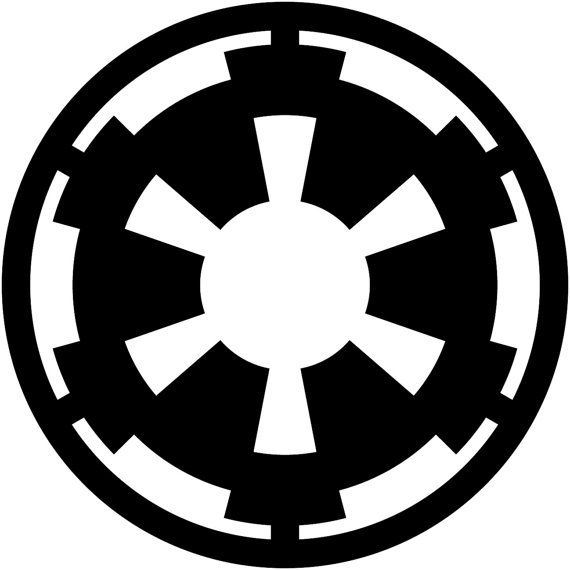 Imperial Logo Decal