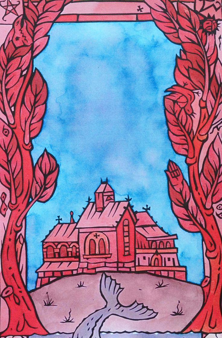 The Deepest Red, Viviane Moore Illustration James Pilston