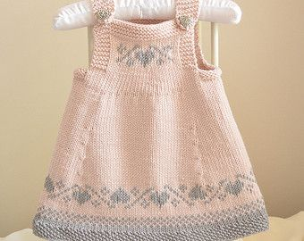 This listing is for the PDF of the knitting pattern ONLY.  Inspiration for the design of this sweater and hat came from our time spent in Norway. My husband is Norwegian and over the years we have been back there many times. I fell in love with his beautiful country and loved the Fair isle and hardanger designs. This little jumper is not difficult to knit up and I have tried to keep the Fair isle simple, in the hope that the knitters out there that have been too daunted by knitting fair…