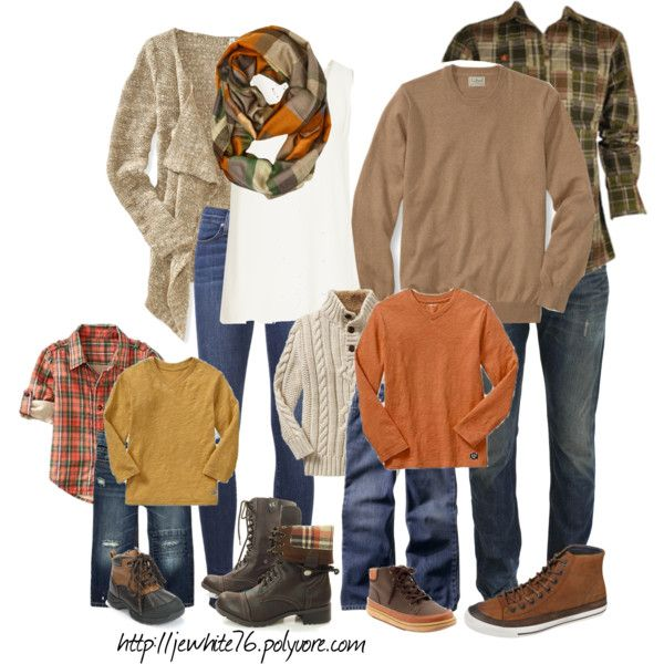 """Fall Family Photo Shoot"" by jewhite76 on Polyvore"