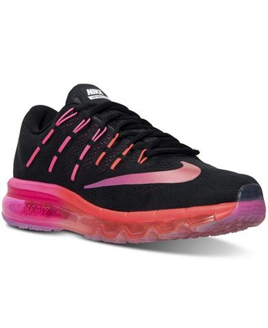 Nike Women's Air Max 2016 Running Sneakers from Finish Line  #shoulderbags #bagshop #L09582 #WomenWallets #bag #backpack #handbags #Happy4Sales #YLEY #fashion #kids #highschool  #Macys #ProductCatalog