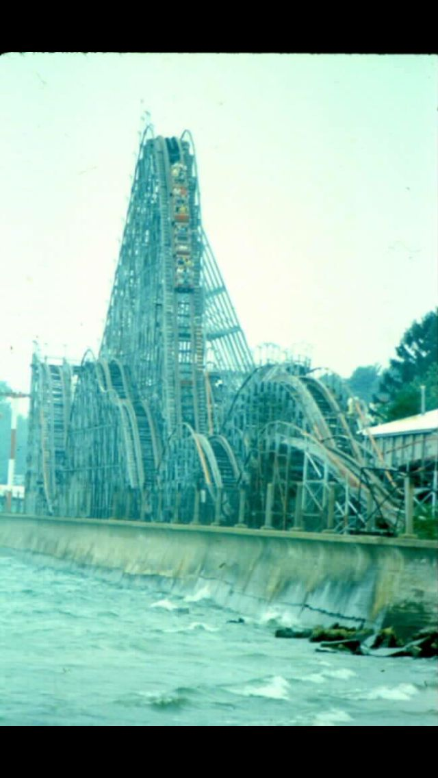 Comet Coaster, Crystal Beach Ontario