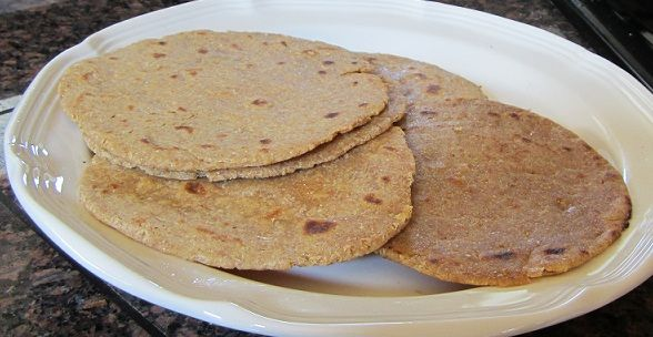 Chapati - Kenya Round Flat Bread-going to try with almond flour and maybe corn maybe oatmeal flour