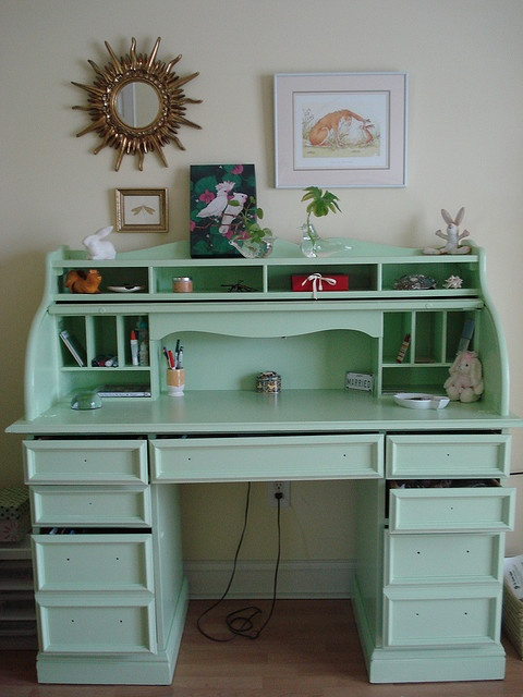 we have a roll top desk thats in rough shape maybe i could - Desk Colors