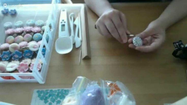 テスト、樹脂粘土で和菓子を作ります