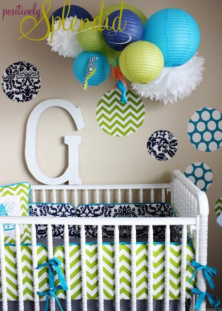 love these colorsDecals Tutorials, Splendid Crafts, Custom Fabrics, Positive Splendid, Wall Decals, Nurseries Beds, Cribs Skirts, Home Decor, Fabrics Wall