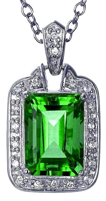 Green Topaz Pendant