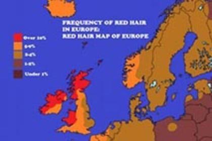 Visiting Harvard biology professor explains red hair genetics across Europe