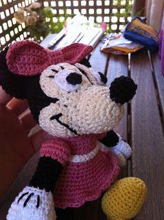 Amigurumi Disney Minnie Mouse: patrón