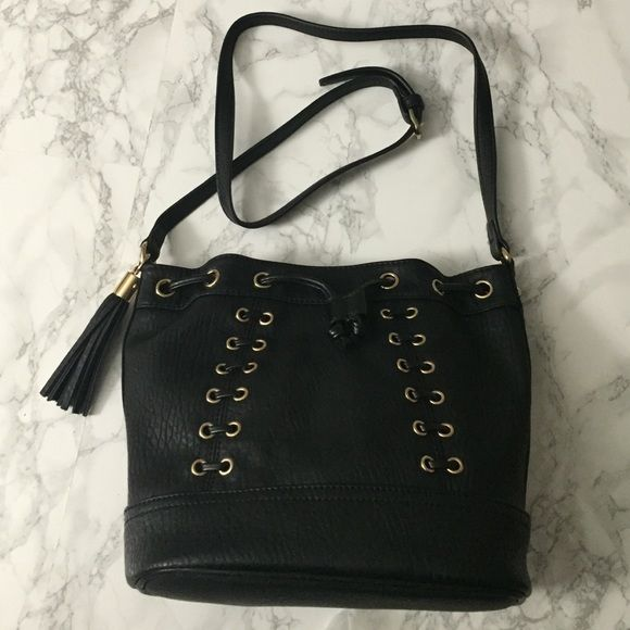 Miss Selfridge bucket bag Miss Selfridge bucket bag in black. New condition. **No trades** Miss Selfridge Bags