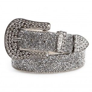 Every girls dream belt! Ariat Women's Crystal Silver Belt