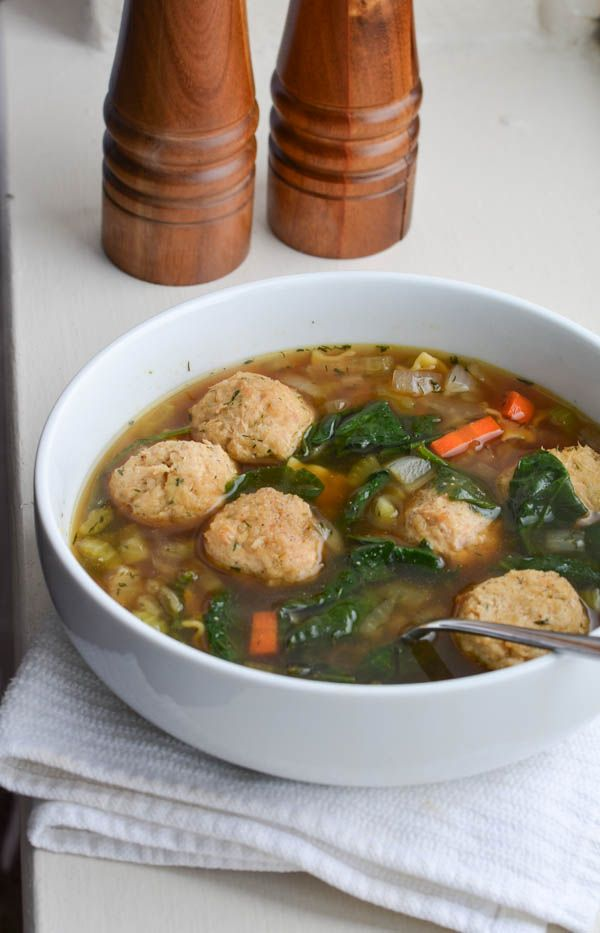 I love soup year 'round, anyone else? Italian Wedding Soup ... This is a great recipe.