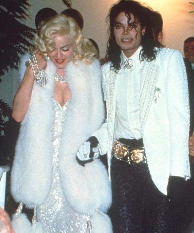 #MichaelJackson and #Madonna at the Oscars, 1991