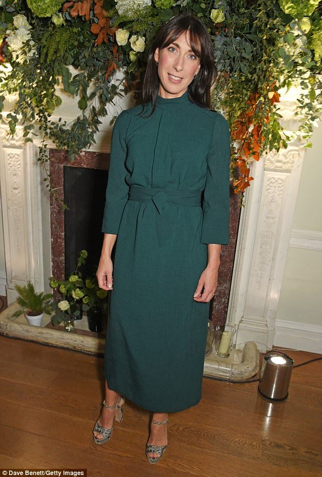 Samantha Cameron attends the Red Smart Women Week Career Shifters Party at Asia House, wea...