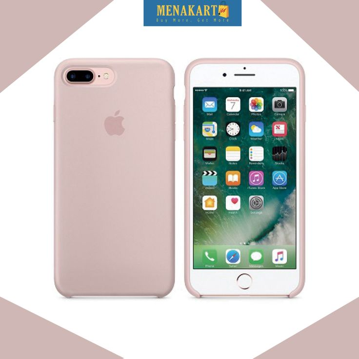 20% OFF on Apple Silicone case for Apple iPhone 7 Plus Pink Sand (MMT02)  #Apple #Cases #SiliconeCases #iPhone7 #iPhone7Plus #online #mobile #accessories #shopping #menakart #uae #Syria #Bahrain #kuwait #ksa