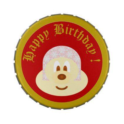 Birthday Souvenir from Ski Hat 鲍 鲍 6 Candy Tins - birthday gifts party celebration custom gift ideas diy