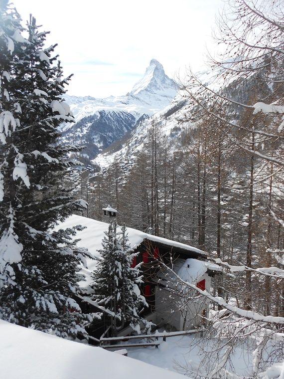 La schi pe cele mai frumoase pârtii, în Zermatt