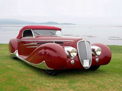 Iconic Classic Car: 1939 Delahaye 165 V-12 Cabriolet at Mullin Auto Museum